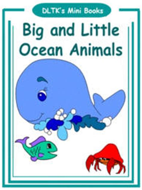 DLTK s Make Your Own Books Big and Little Ocean Animals