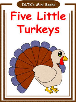 DLTK s Make Your Own Books Thanksgiving