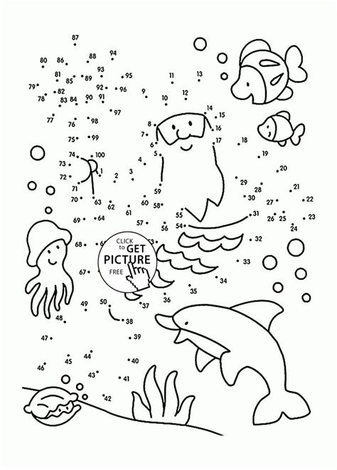 DOT TO DOT COLORING Pages Free Download Printable