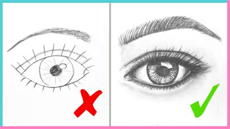 DOs DON Ts How to Draw Realistic Eyes Easy Step by Step