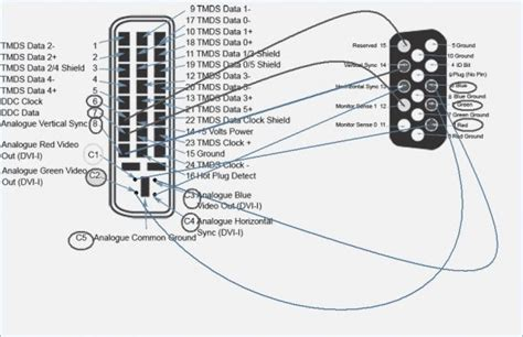 vga cable internal connection diagram images iphone internal dvi a to vga adapter pinouts wiring diagram