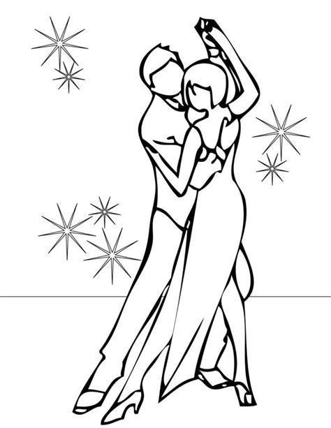 Dance Coloring Pages GetColoringPages
