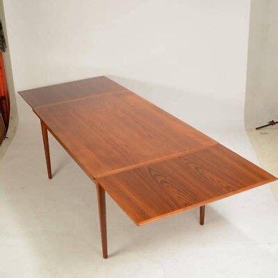 Danish Modern Teak Dining Table Mid Century eBay