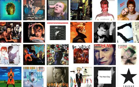 David Bowie Lists His 25 Favorite LPs in His Record