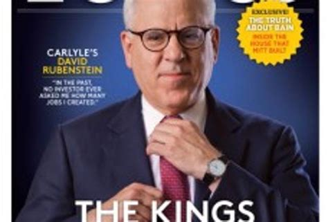 David Rubenstein And The Carlyle Group The Kings Of Capital