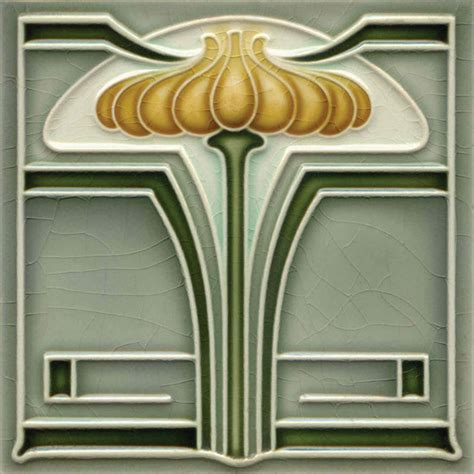 Decorative tiles Art Deco Arts and Crafts Art Nouveau