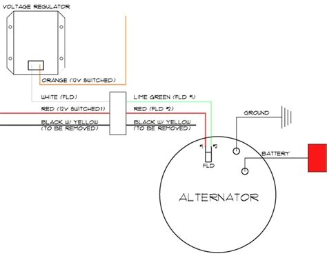 delco remy one wire alternator wiring diagram images delco remy delco one wire alternator wiring diagram circuit and