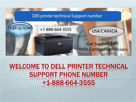 Dell Printer Support Phone Number 18777228183 Technical