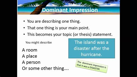 Descriptive Essay Writing Structure and Techniques YouTube