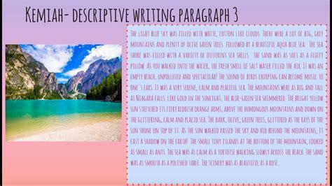 Descriptive Writing YouTube