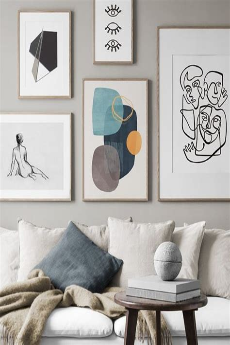 Desenio Wall art with Scandinavian design Art pictures