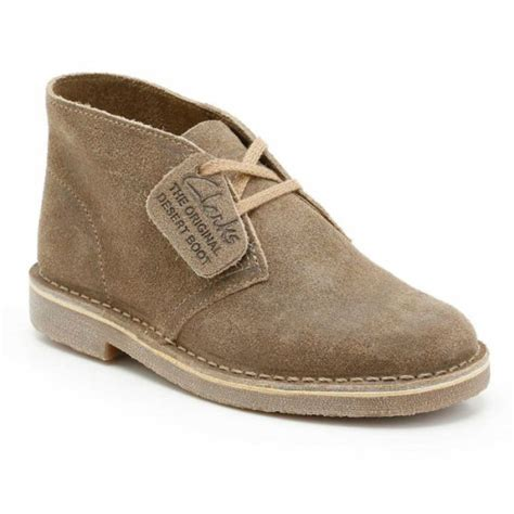 Desert Boot Taupe Distressed Suede Men s Desert Boots