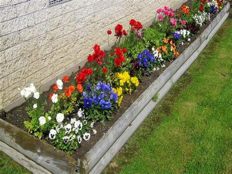 Design For A Small Garden Flower Bed Ideas Designs For