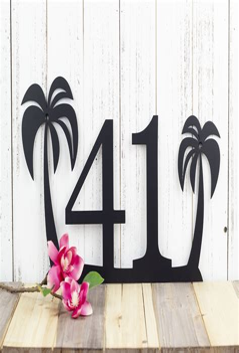 Design Your Palm Tree Custom Made Metal Palm Trees
