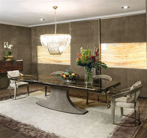 Designer Italian Dining Tables Luxury High End Dining