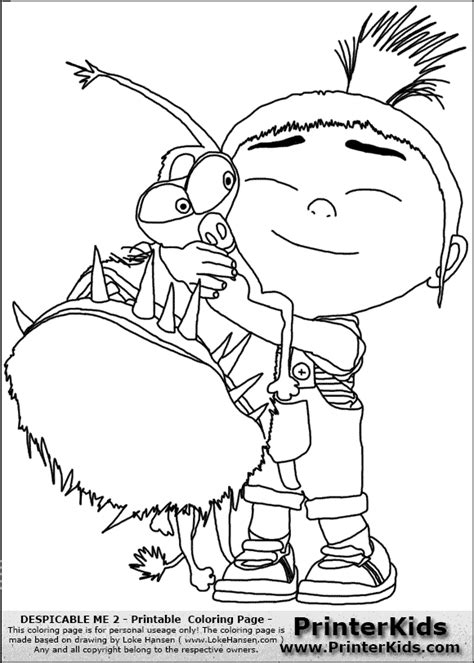 Despicable Me Coloring Pages GetColoringPages