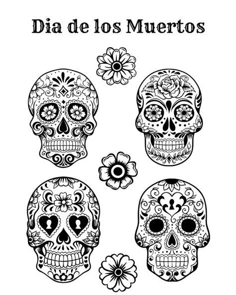 Dia De Los Muertos Free Printables Tried True