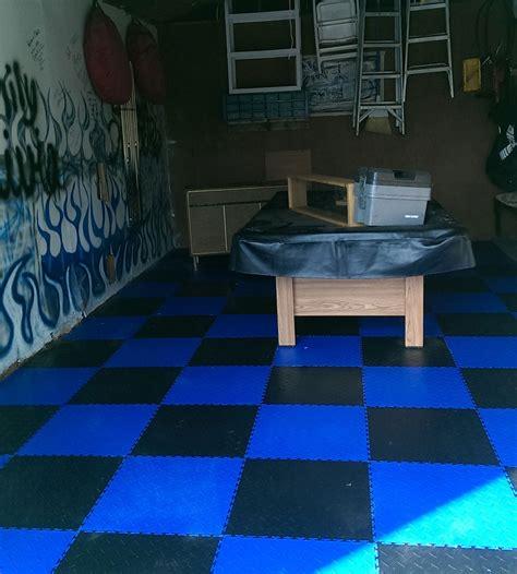 Diamond Flex Tiles PVC Garage Floor Tiles Rubber Flooring