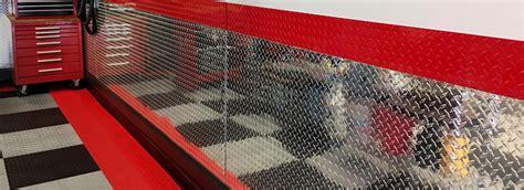 Diamond Plate Garage Wall Panels Garage Ideas CutsMetal