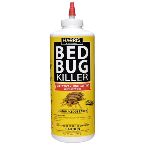 Diatomaceous Earth Natural Bed Bug Control