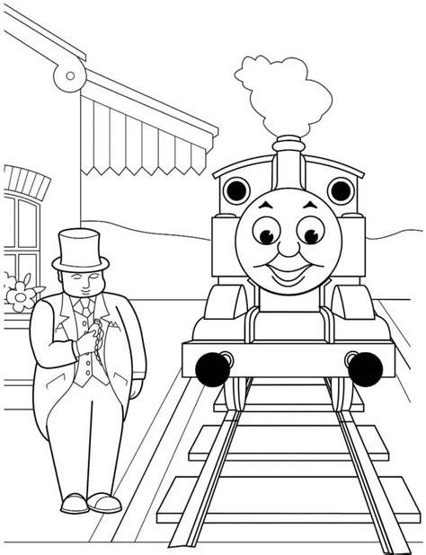 Dibujos de Thomas y sus amigos para colorear en Colorear