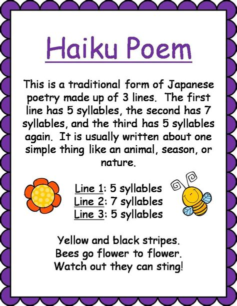Different Types of Poems for Kids