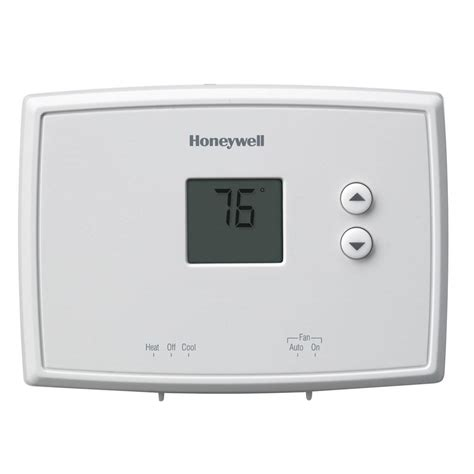 wiring diagram for a honeywell digital thermostat images wire digital non programmable thermostat honeywell
