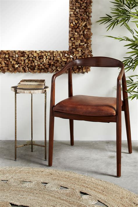Dining Chairs Leather Outdoor Wooden Chairs