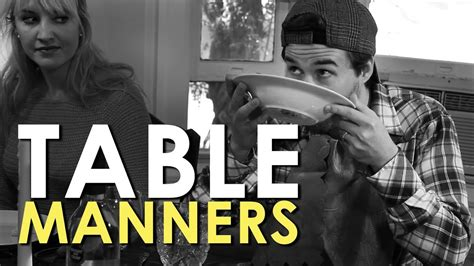 Dining Etiquette Table Manners AoM Instructional