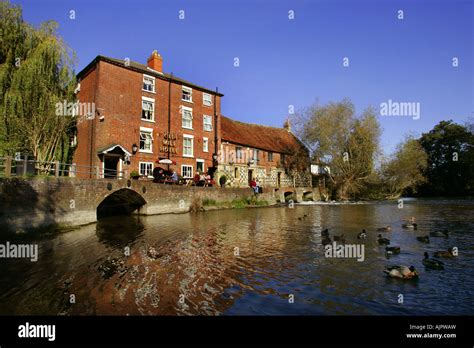 Dining Old Mill Hotel Salisbury Wiltshire