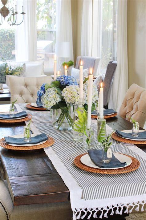 Dining Room Table Setting Ideas Pinterest