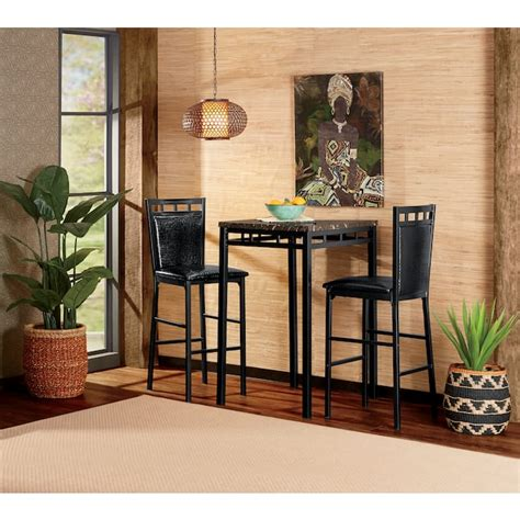Dining Sets Chairs 3 pc Seventh Avenue