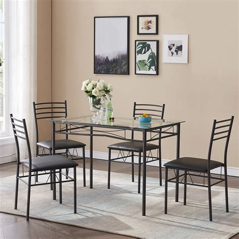 Dining Table 4 Chairs Fast Free Delivery Furniture