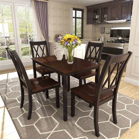 Dining Table 4 Chairs Houzz