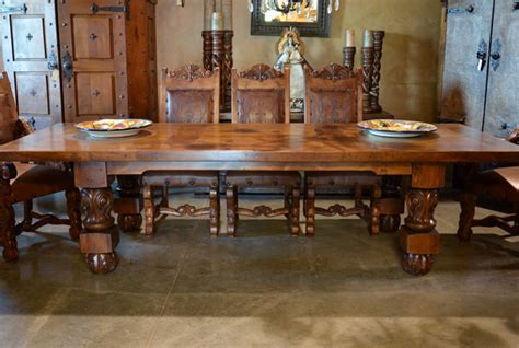 Dining Table Catalog Spanish Style Furniture Doors