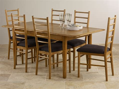 Dining Table and Benches Rustic Oak Dining Tables