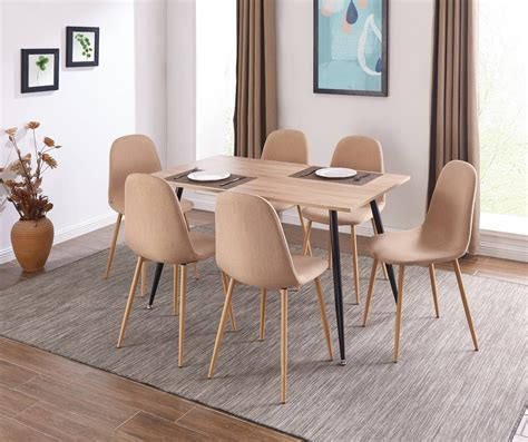 Dining Table and Chairs Modenza Furniture