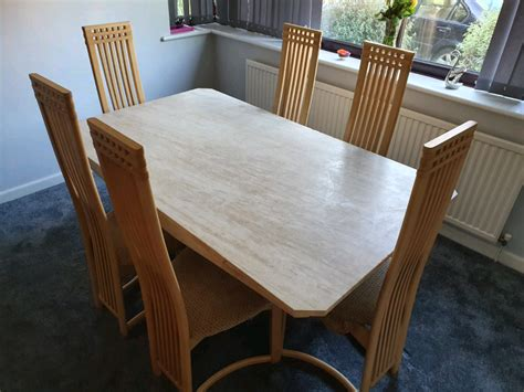 Dining table 4 chairs sets Furniture Village