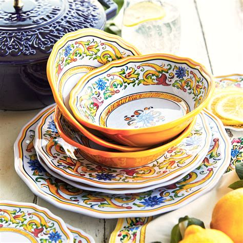 Dinnerware Sets Plates Dishes Dining Table Best Buy
