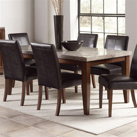 Dinning Tables Dining Table with Granite Top