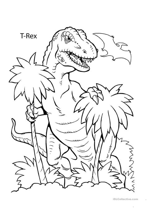 Dinosaur Coloring Book and Sheets Dino Coloring Pages