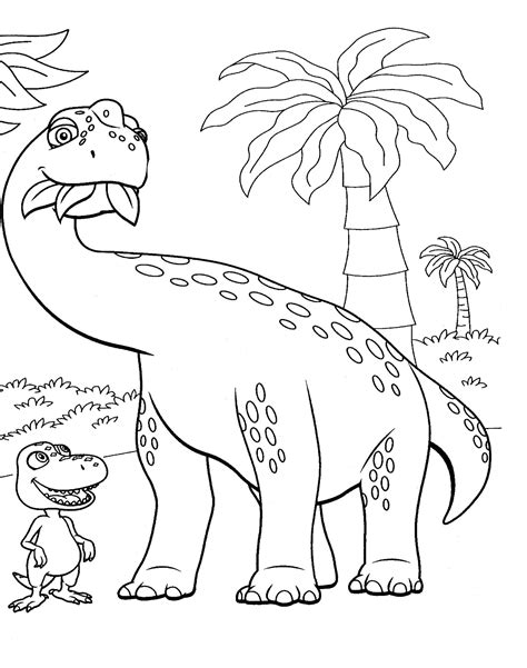 Dinosaur Train coloring page Free Printable Coloring Pages