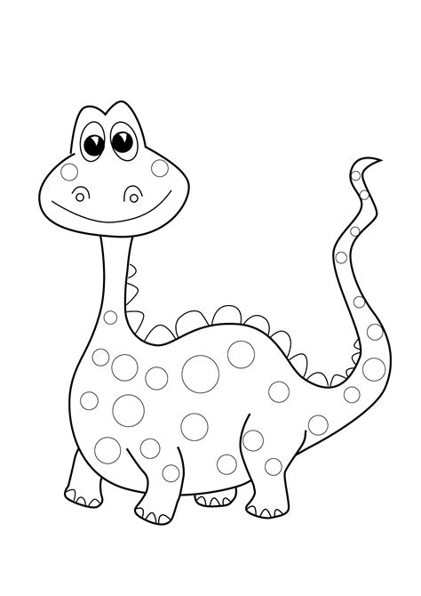 Dinosaurs Coloring Pages Free Printable ancient Dinosaur