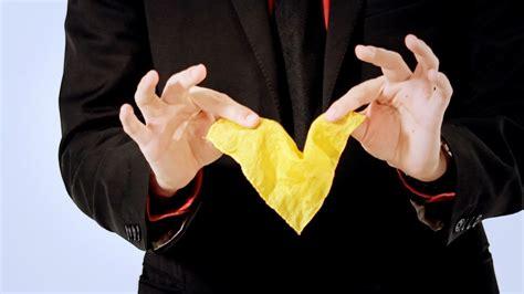 Disappearing Handkerchief Trick Magic Card Flourishes