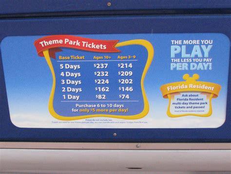 Discount Disney World Tickets Orlando Theme Parks