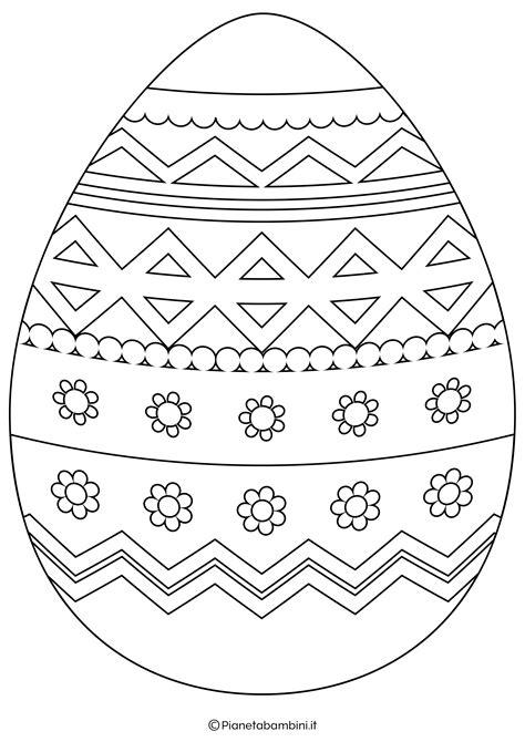 Disegni di Pasqua le uova da stampare e colorare Foto