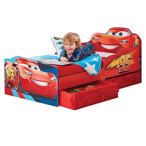 Disney Cars Lightning McQueen Toddler Bed BIG W