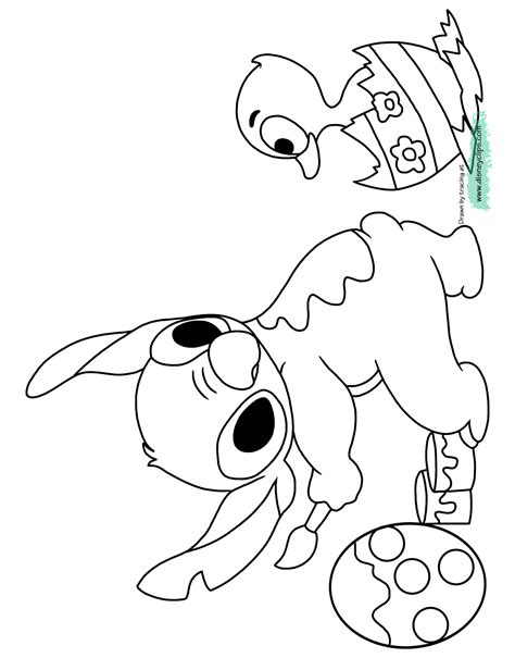 Disney Easter Egg Coloring Pages Printable Colorings