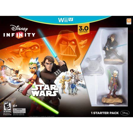 Disney Infinity 3 0 Edition Starter Pack Wii U Walmart