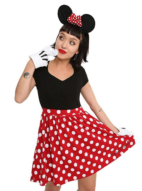 Disney Minnie Mouse Dress Hot Topic